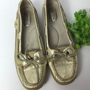 Sperry Top-Sider gold metallic shoes
